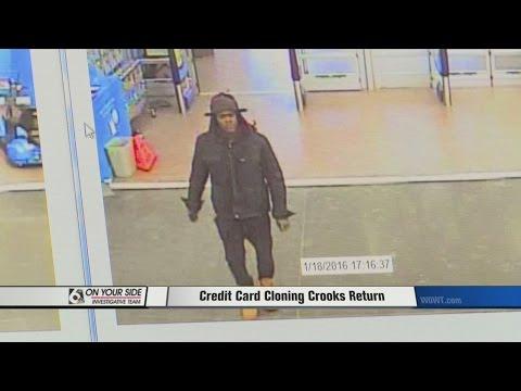 Credit Card Cloning Crooks Return