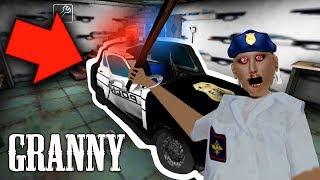 GRANNY PUT US IN JAIL!! Granny Police Mod Gameplay