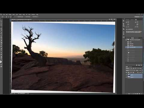 Auto Align Layers in Photoshop