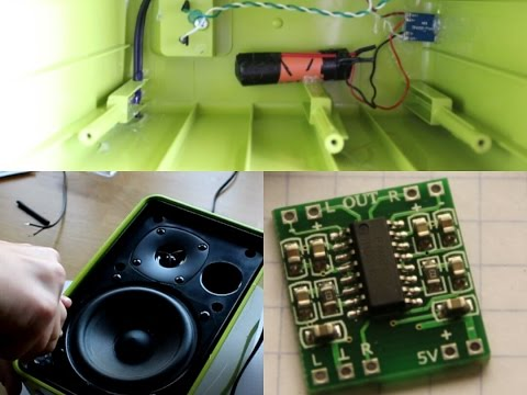 Build your own speaker with PAM8403 | How to put old passive speakers to active one