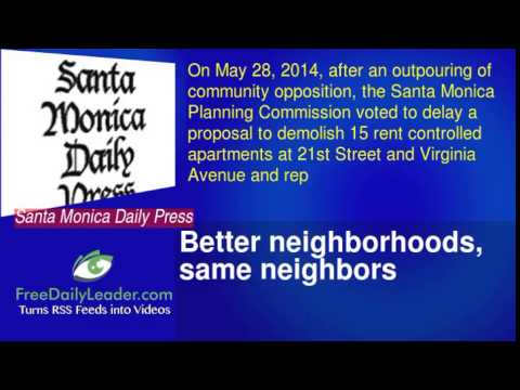 Better neighborhoods, same neighbors
