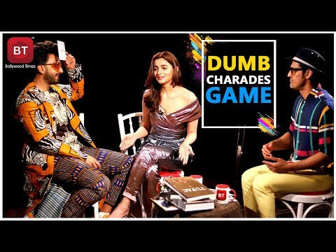 Xxx Mp4 Gully Boy Starcast Ranveer Singh Alia Bhatt Played Fun Filled Action Packed Dumb Charades Round 3gp Sex
