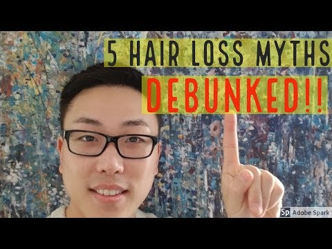 5 Hair Loss Myths You Should STOP Believing DEBUNKED!!