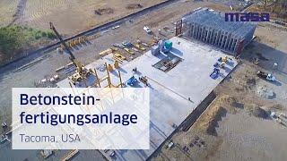 Masa Betonsteinfertigungsanlage (DE)