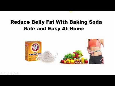 Get Rid of Belly Fat Using Baking Soda