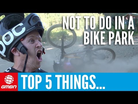 Top 5 Things Not To Do In A Bike Park | GMBN At Whistler Crankworx