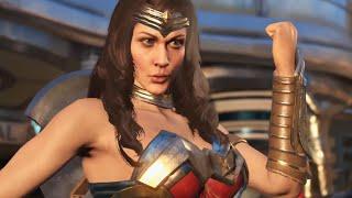 Injustice 2 - Wonder Woman vs Blue Beetle | official trailer (2017) PS4