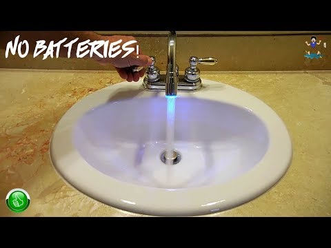 Very Cool Faucet / Shower LED Gadget!