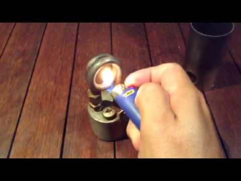 Copper Coil Burner/Stove - DIY