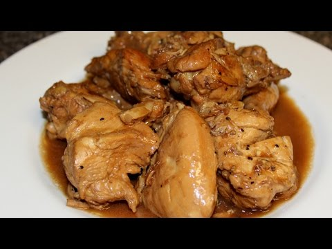 Chicken Adobo sa Gata Recipe
