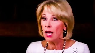 Betsy DeVos Proves How Insanely Dumb She Is On 60 Minutes Interview