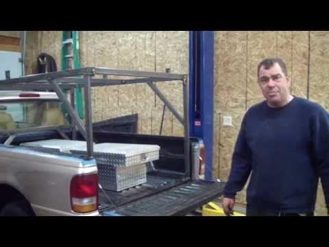 Truck Cargo Rack Build With  JD