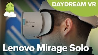 Lenovo Mirage hands-on: Standalone Daydream VR