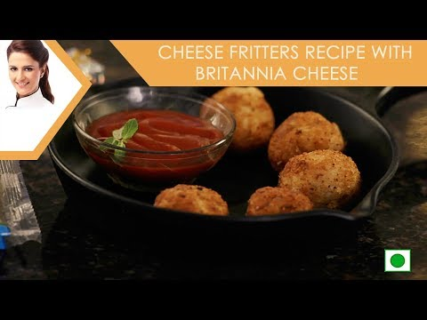 Cheese Fritters Recipe with Britannia Cheese