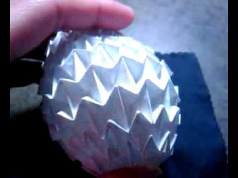 Origami Magic Ball (Regular Lined Paper)