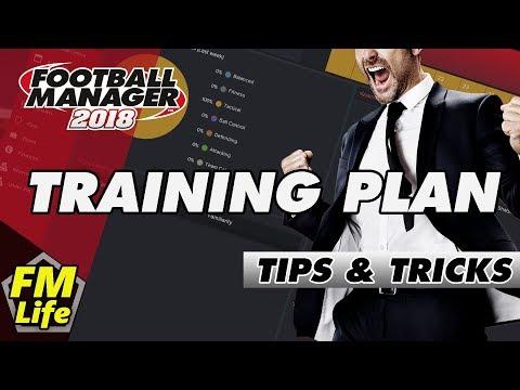 Football Manager 2018 Training Plan | Tips & Tricks
