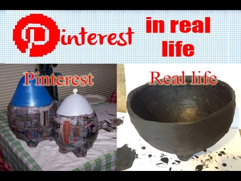Pinterest in Real Life - Cauldron (Harry Potter Week Project 1)
