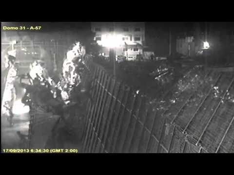 Inmigrantes logran entrar en Melilla asaltando la valla