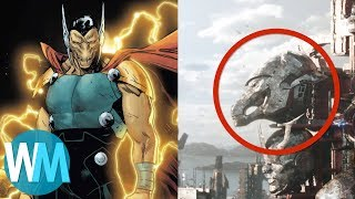 Top 10 Thor: Ragnarok Easter Eggs
