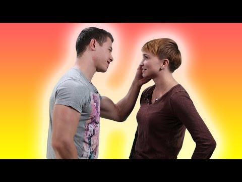 Lesbians Try Kissing Men