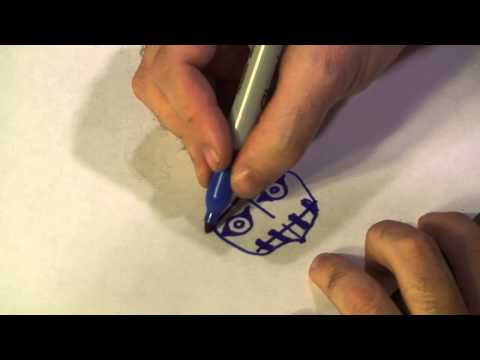How to Draw Scary Aztec Masks