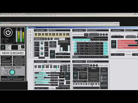 Ambient improv session with Music SDP 1.1.3
