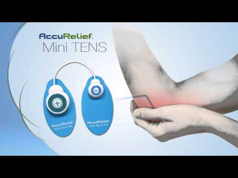 AccuRelief Mini TENS Pain Relief System (Over the Counter TENS UNIT)