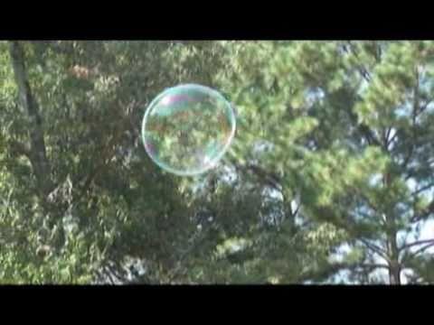 Long lasting bubbles