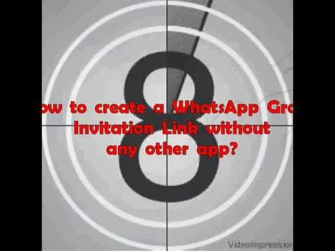 How to create WhatsApp Group invitation link | The Qwerty Club