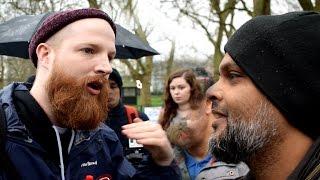 P1 - Jewish Afterlife!? Hashim Vs Jewish Speaker | Speakers Corner | Hyde Park