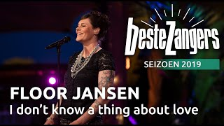Floor Jansen - About love I don't know a thing   Beste Zangers 2019