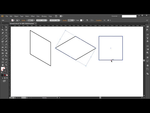 How to transform 2D object into ISOMETRIC OBJECT in Adobe Illustrator - Tutorial #8