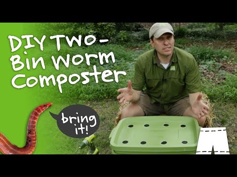 How To Make A DIY Worm Composting Bin
