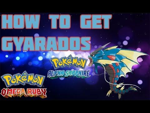 How to Get Mega Gyarados in ORAS - Mega Stone Location Guide
