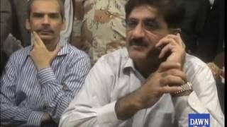 CM Sindh in action