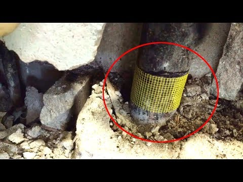 How to Mark a Pipe to Cut it Straight with a Piece of Material You Won't Expect!  (Life Hacking Tip)