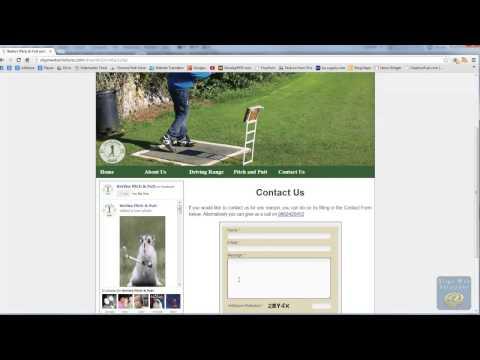 Dreamweaver Tutorial - Part Fourteen - Adding the Contact Form & Google Map