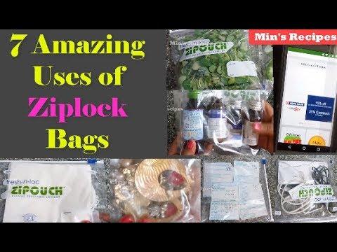 Ziplock बैग्स के कमाल के प्रयोग |7 Amazing Uses of Ziplock Bags - Best Usages Of Zipouch Bags