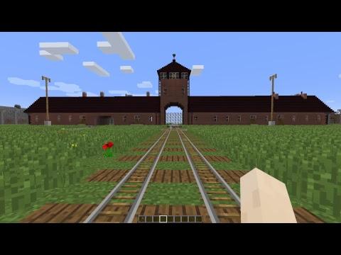 Minecraft Auschwitz tour