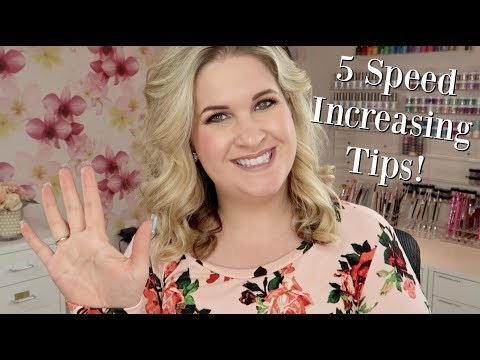 5 Tips to Increase Your Nail Service Speed!