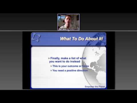 How to Deal with Negativity in Life Using NLP and Huna - Dr. Matt's NLP Masterclass Webinars