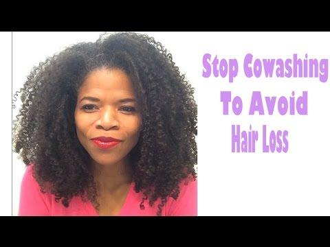 Stop Cowashing to Avoid Hair Loss