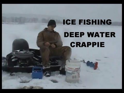 ICE FISHING DEEP WATER CRAPPIE