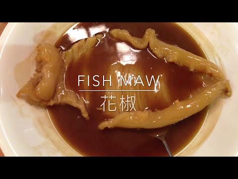 How to dehydrate Fish Maw//怎么样处理花椒怎么这样