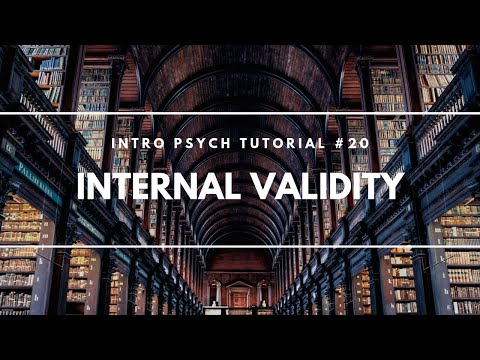 Internal Validity (Intro Psych Tutorial #20)
