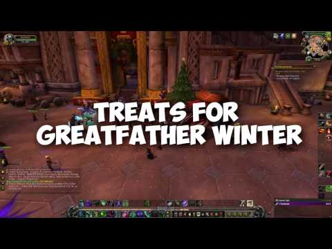Treats for greatfather winter - WoW Legion