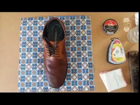 DIY | HOW TO Clean your Oxford Brown Shoes