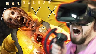 WHY IS THIS SO SCARY!? | Half Life Alyx (VR) - Part 2