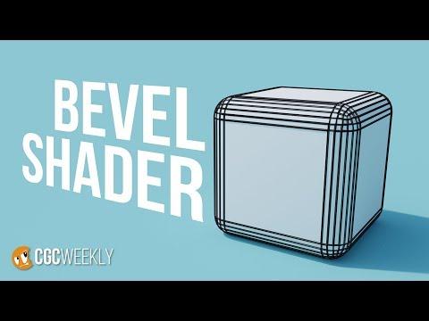 Blender Bevel Shader Sneak Peak! - CGC Weekly #4