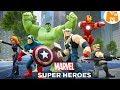 Marvel Мстители Disney Infinity 2.0 Железный человек Мульт для Детей на русском  | Молокосики TV